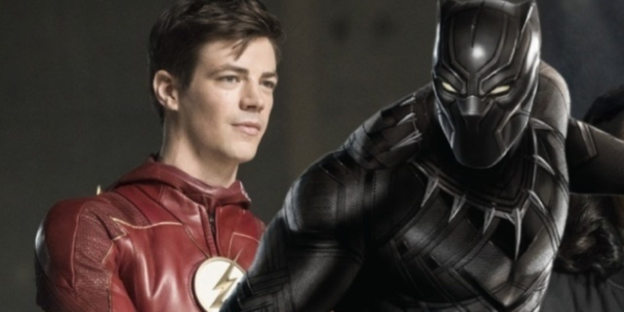 Tonight S The Flash Has A Weird Tie To Black Panther