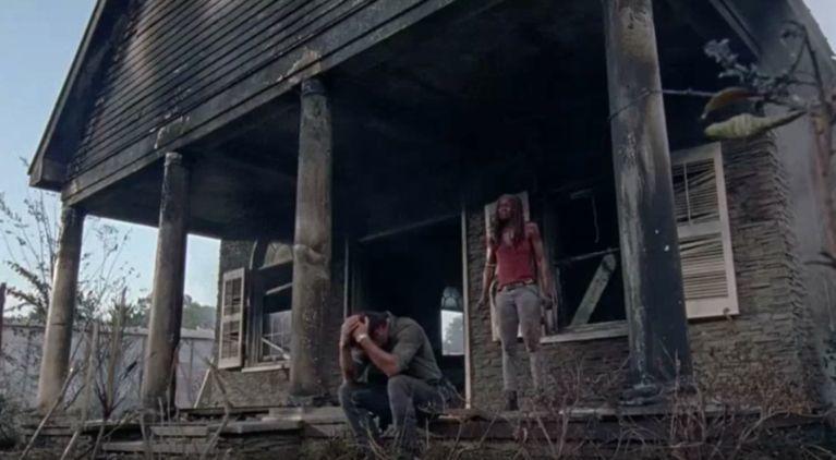The Walking Dead Carl dies