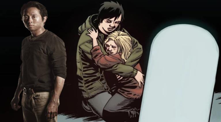 The Walking Dead Glenn tombstone ComicBookcom