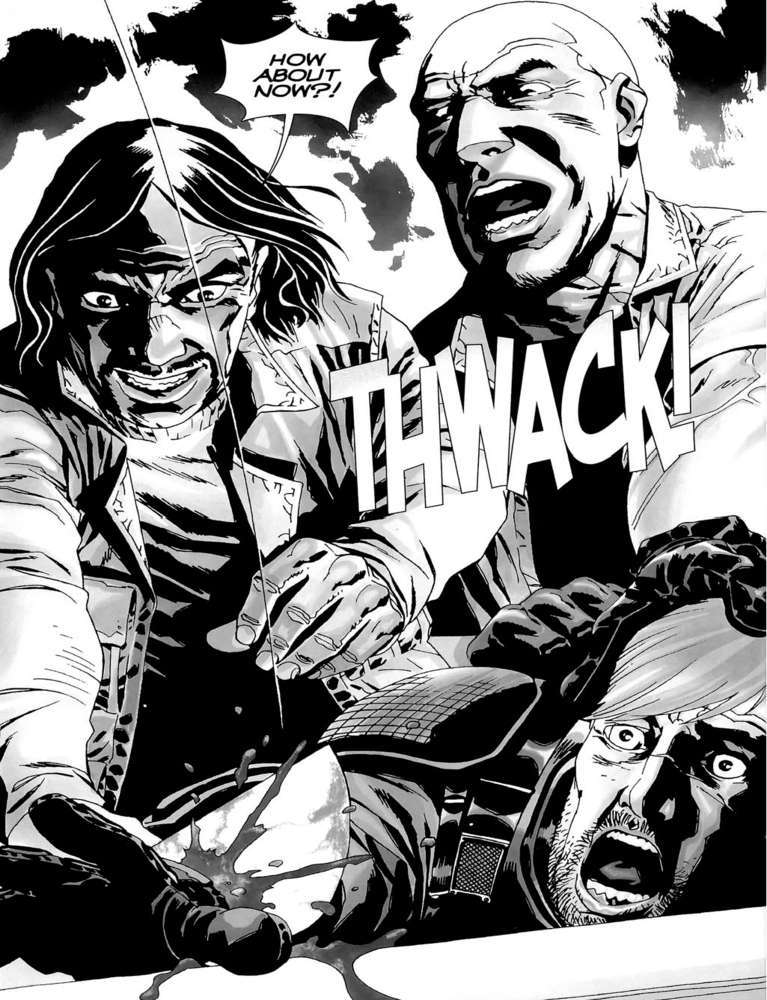 The Walking Dead Rick hand Governor