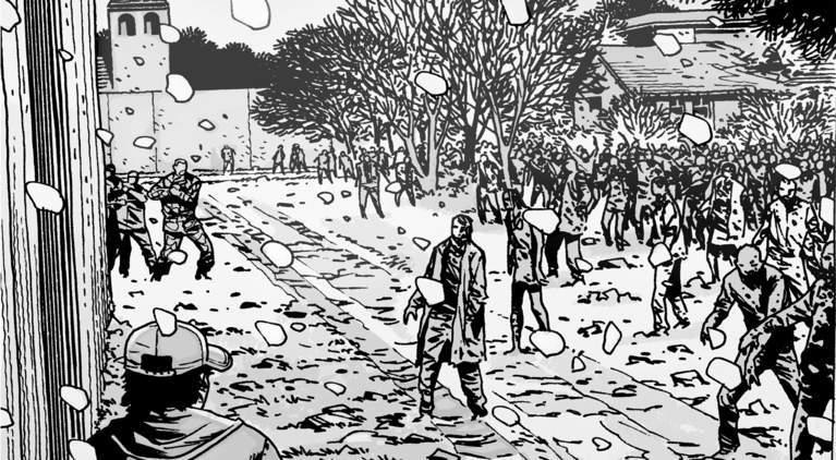 The Walking Dead winter