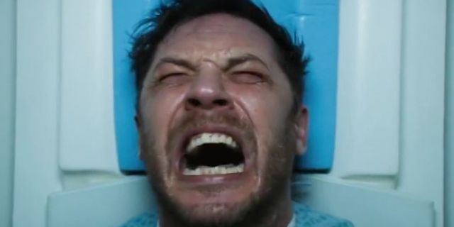 tom hardy venom reactions