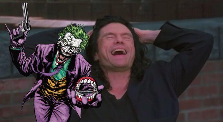 Tommy Wiseau Joker ComicBookcom