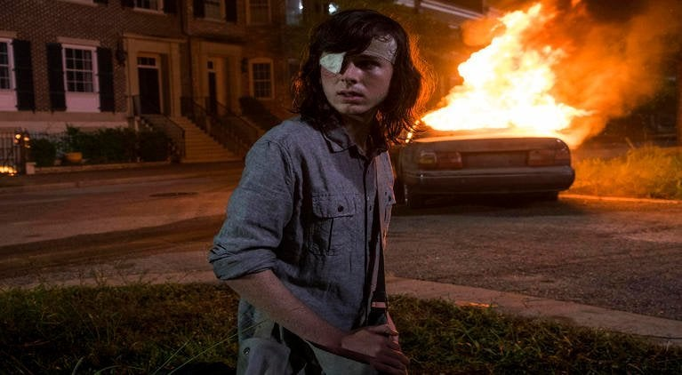 Walking Dead Carl death season 8