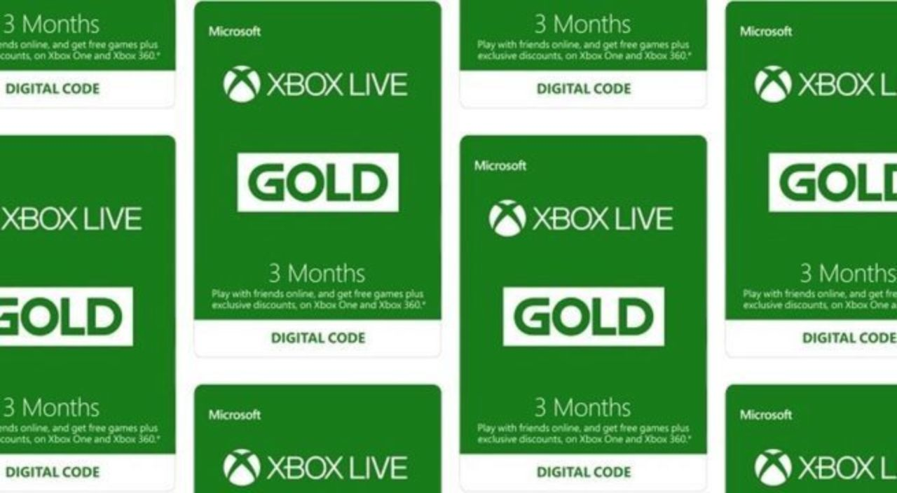 Get 6 Months of Xbox Live Gold For the Price of 3 While You Can