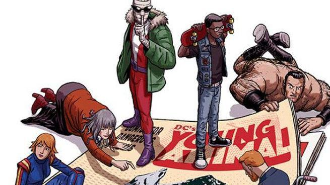 Young Animal - Doom Patrol Cover