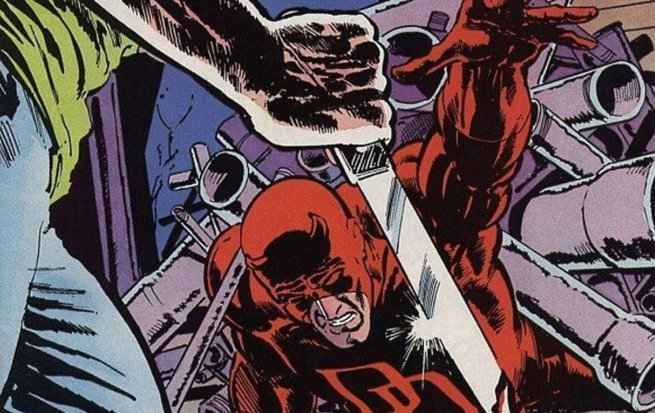 Comic book daredevil
