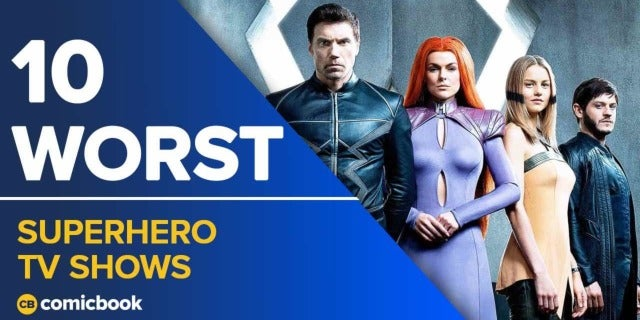 10 Worst Superhero TV Shows