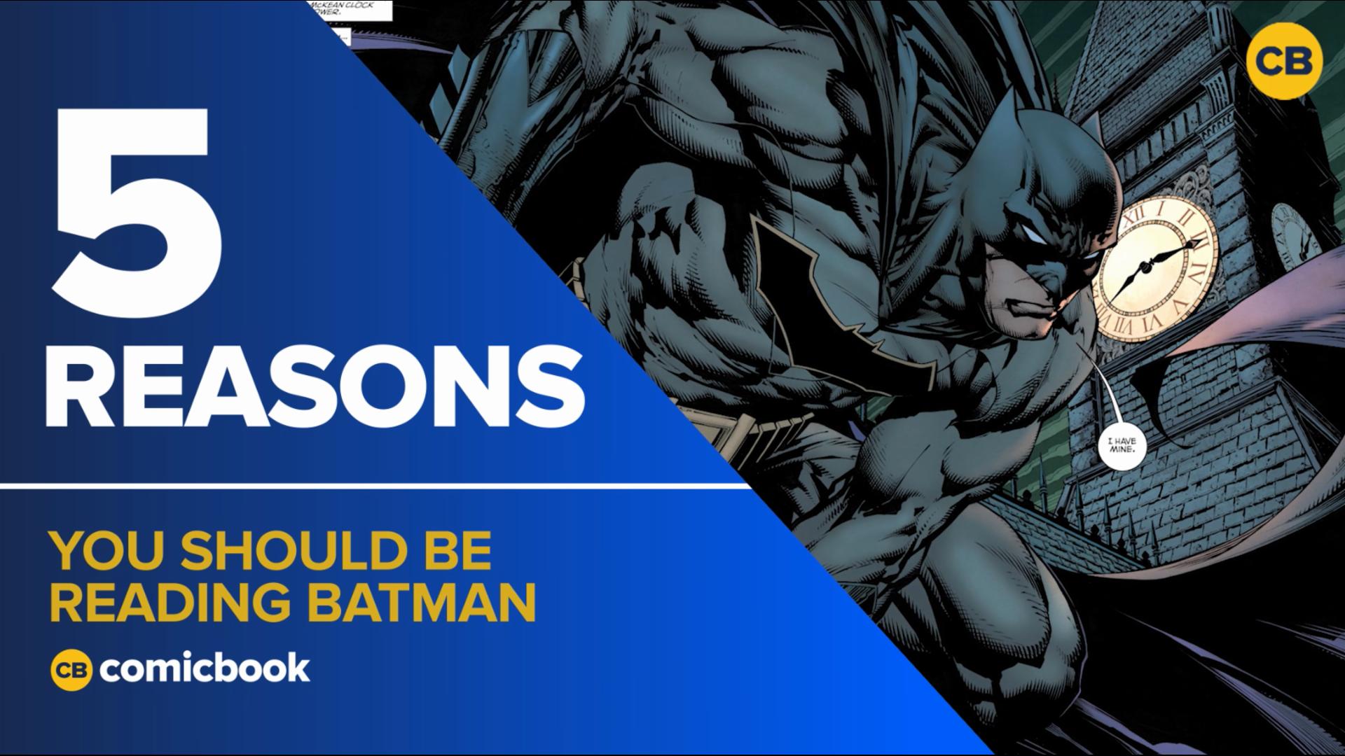 5 Reasons You Should be Reading Batman screen capture