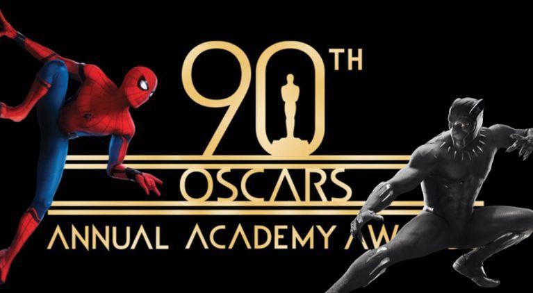 90th Oscars Spider-Man Black Panther comicbookcom
