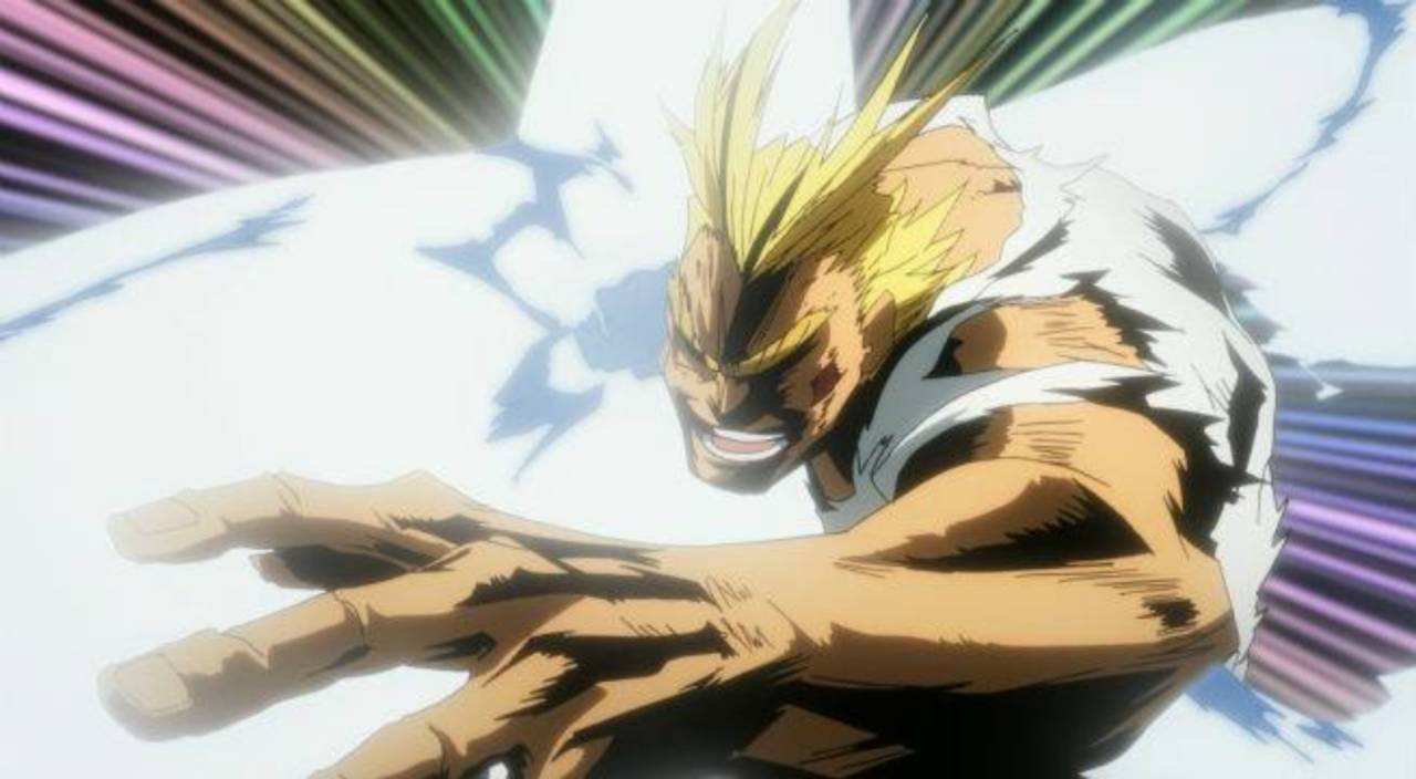 My Hero Academia Shares All Might's Most Cleverly Named Attack Yet