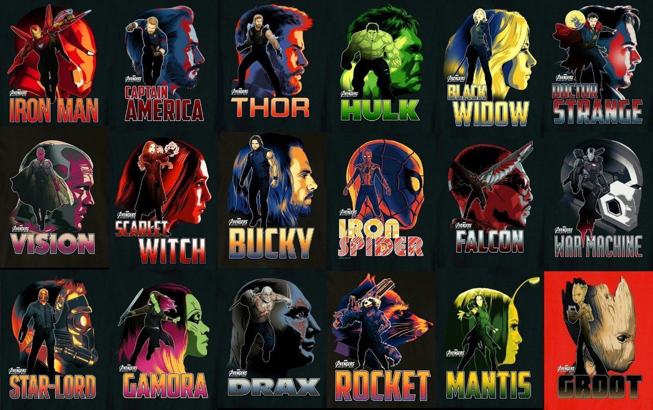 Avengers Liste