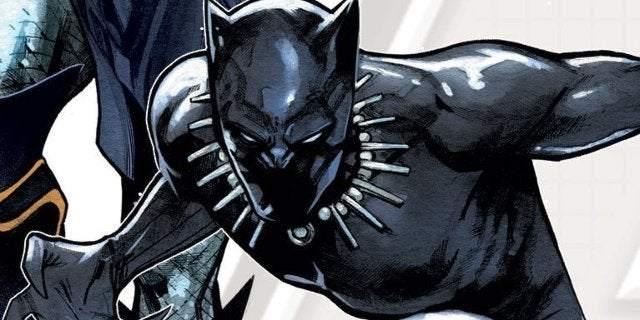 Avengers Fight as One Black Panther Thor
