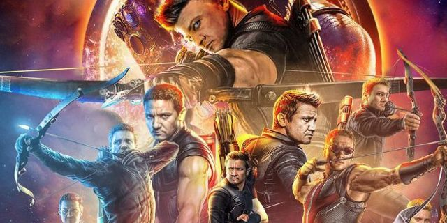 Avengers Infinity War All Hawkeye Header by BossLogic