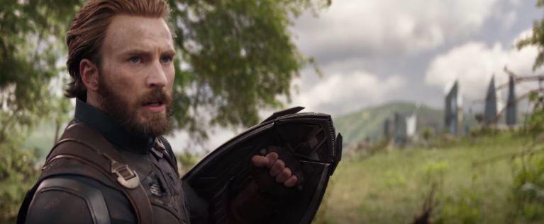 Avengers Infinity War Captain America Wakanda