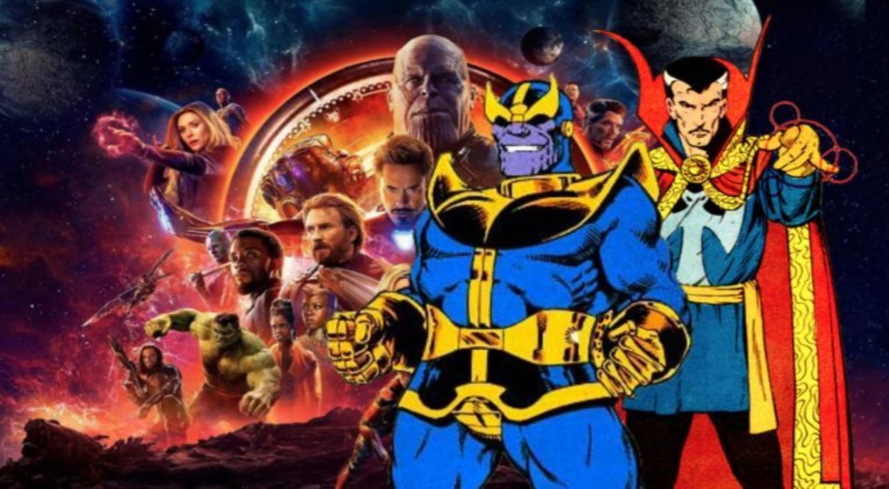 avengers: infinity war' collage compares comic vs. movie