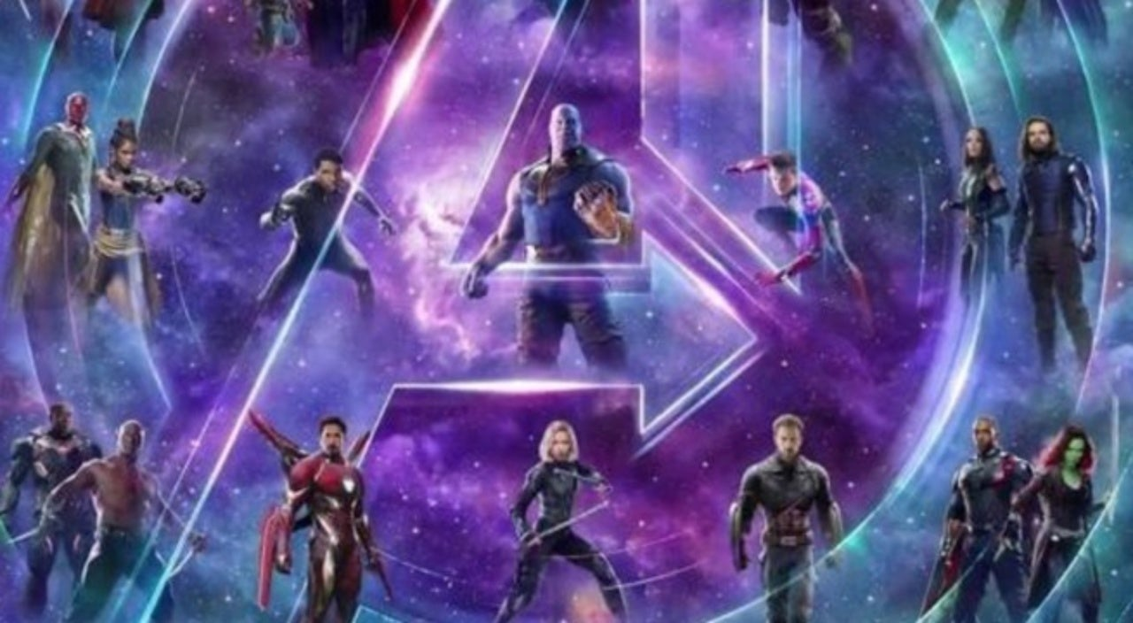 Avengers Infinity War Covers Connected Into One Gigantic 23
