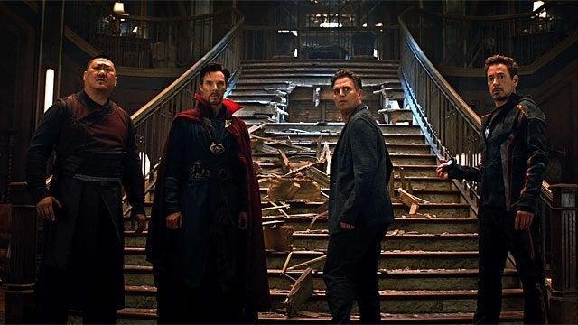avengers infinity war doctor strange iron man
