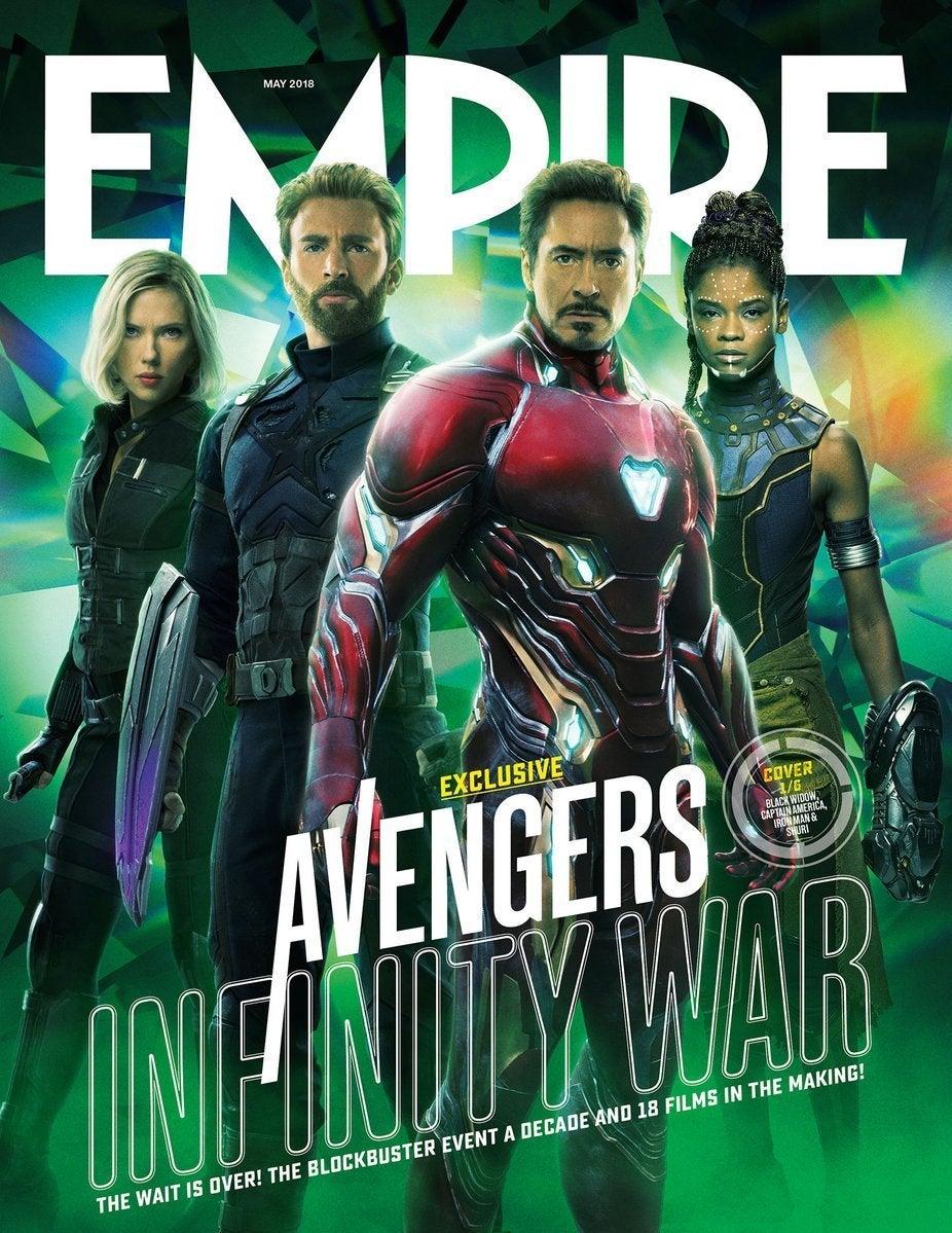 avengers infinity war empire 1