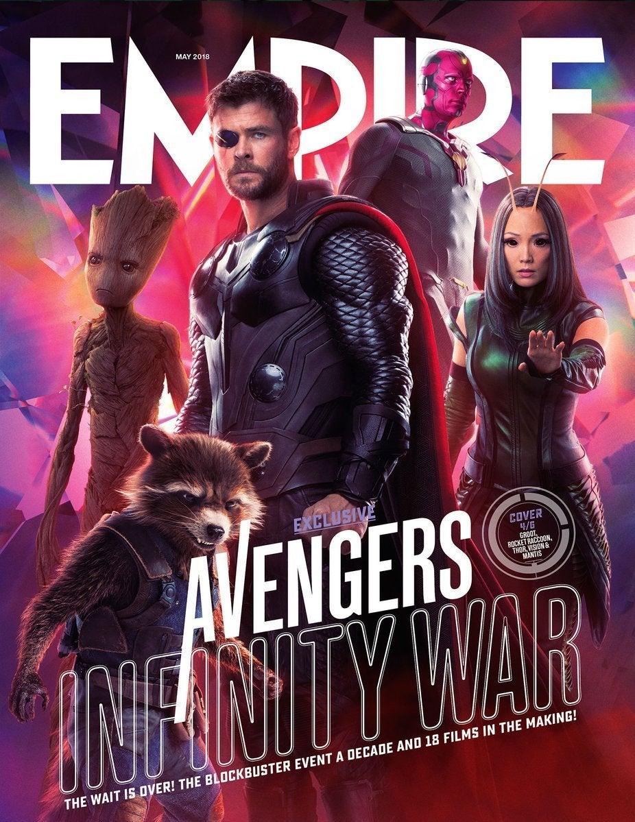 avengers infinity war empire 4