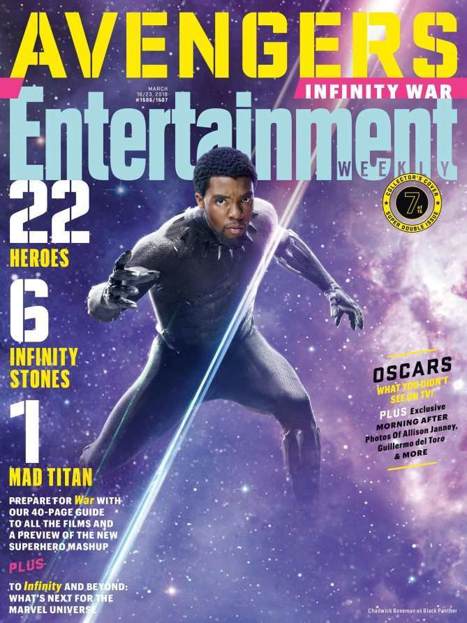 Avengers Infinity War EW Black Panther