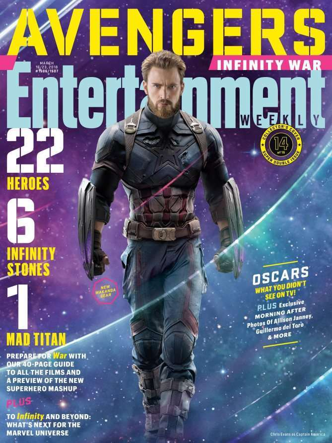 Avengers Infinity War EW Captain America