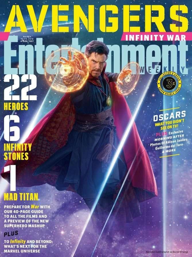Avengers Infinity War EW Doctor Strange