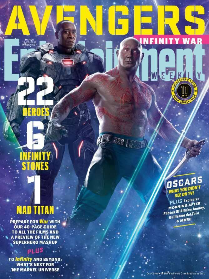 Avengers Infinity War EW Drax War Machine