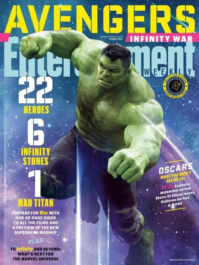 Avengers Infinity War EW Hulk