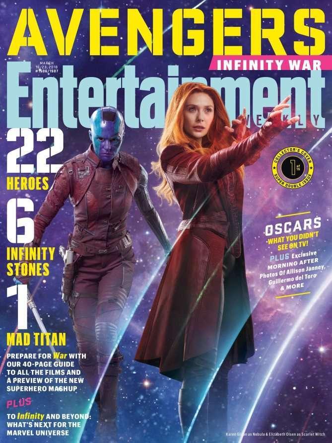 Avengers Infinity War EW Scarlet Witch Nebula