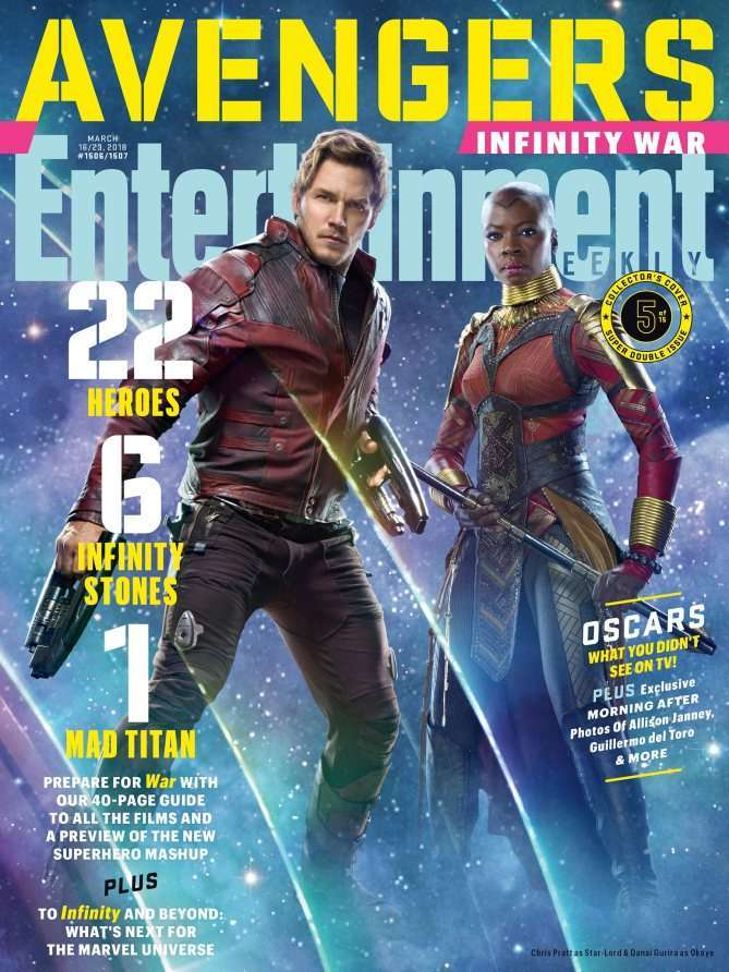 Avengers Infinity War EW Starlord Oyoke