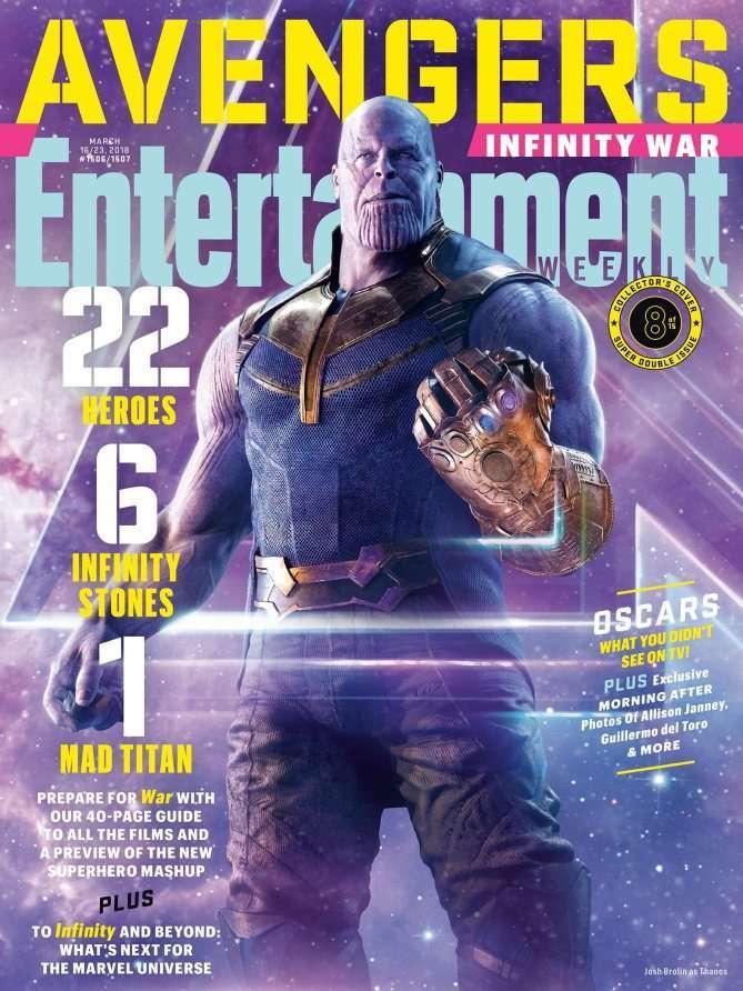 Avengers Infinity War EW Thanos
