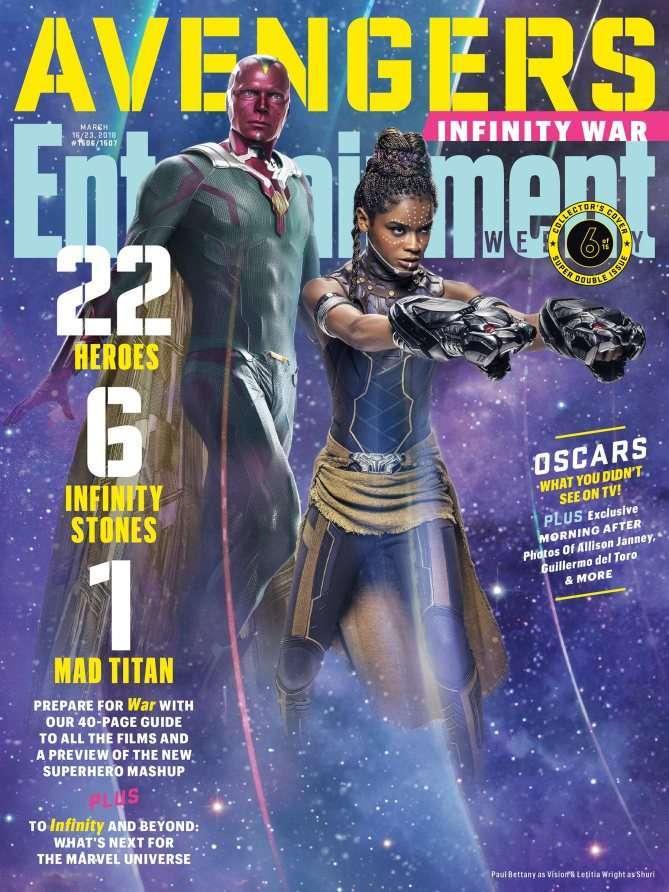 Avengers Infinity War EW Vision Shuri