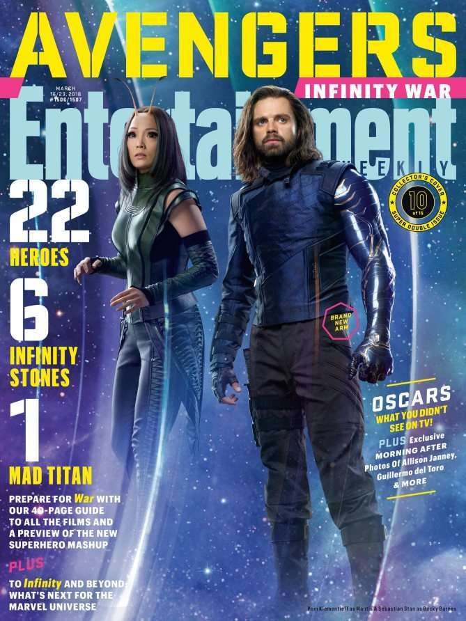 Avengers Infinity War EW Winter Soldier Mantis
