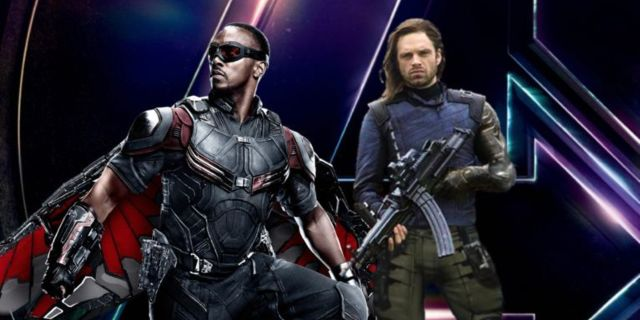 Avengers Infinity War Falcon Bucky Comicbookcom