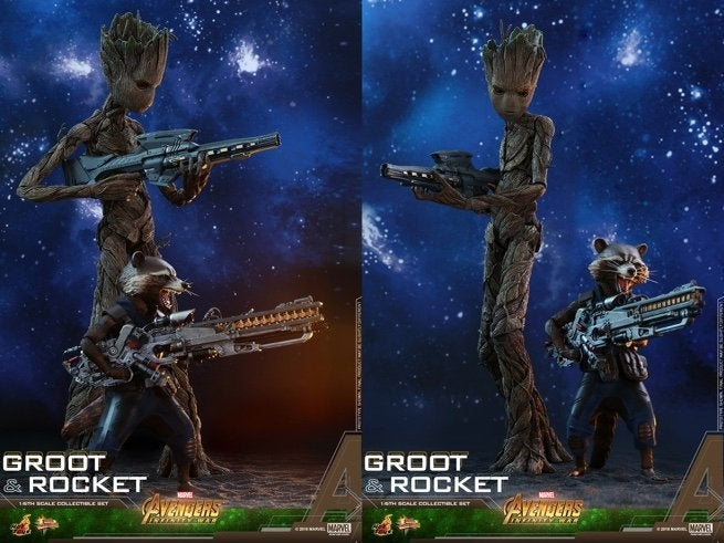 avengers-infinity-war-groot-and-rocket-hot-toys