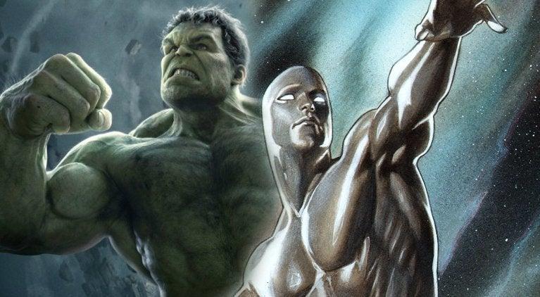Avengers Infinity War Hulk Silver Surfer
