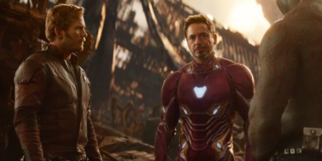 Avengers Infinity War Iron Man Star-Lord