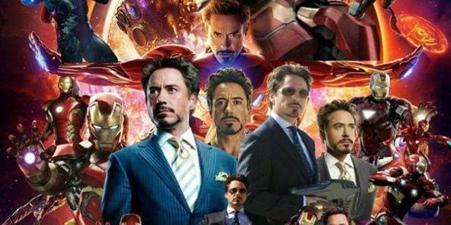 Avengers Infinity War Poster All Iron Man Header