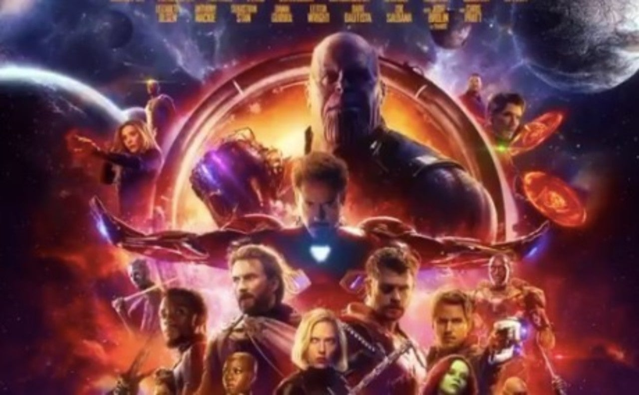 Official Avengers Infinity War Poster Released