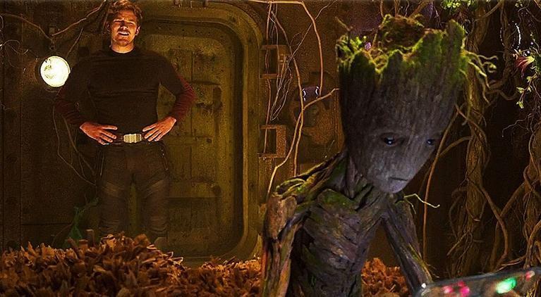 avengers-infinity-war-tv-spot-groot-star-lord-fight