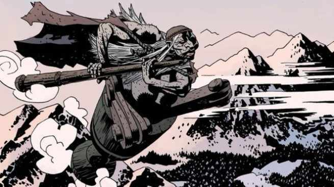 Best Hellboy Villains - Baba Yaga
