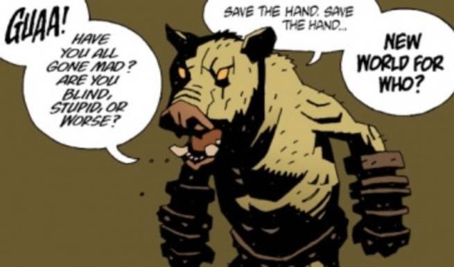 Best Hellboy Villains - Gruagach