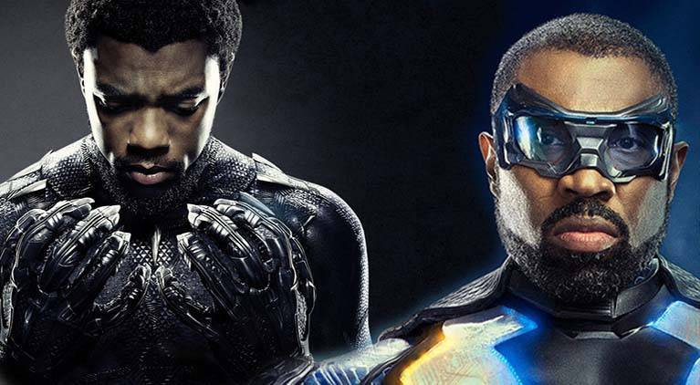 black panther black lightning