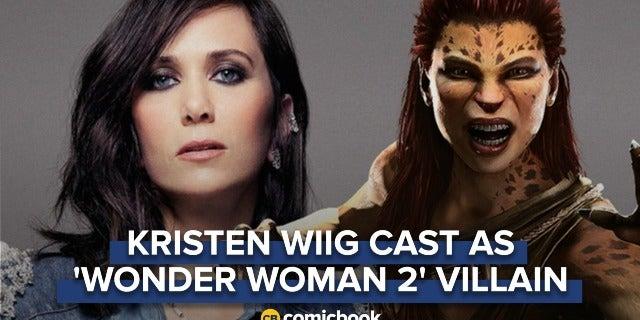 BREAKING: Kristen Wiig Cast As 'Wonder Woman 2' Villain Cheetah screen capture