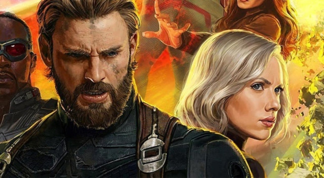 Captain America Black Widow Romance Avengers Infinity War 1094096