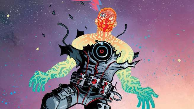 Cave Carson Has An Interstellar Eye #1 Review - Cover