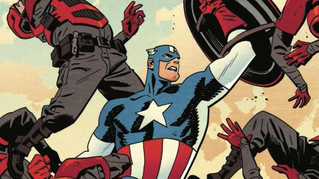 Chris Samnee Marvel Comics - Captain America
