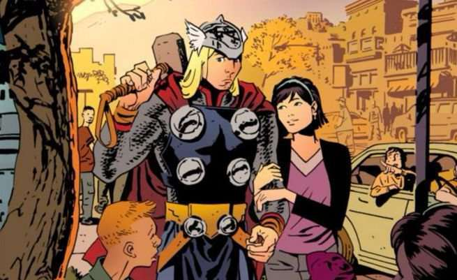 Chris Samnee Marvel Comics - Thor