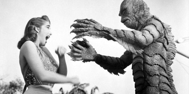 creature from the black lagoon universal monster
